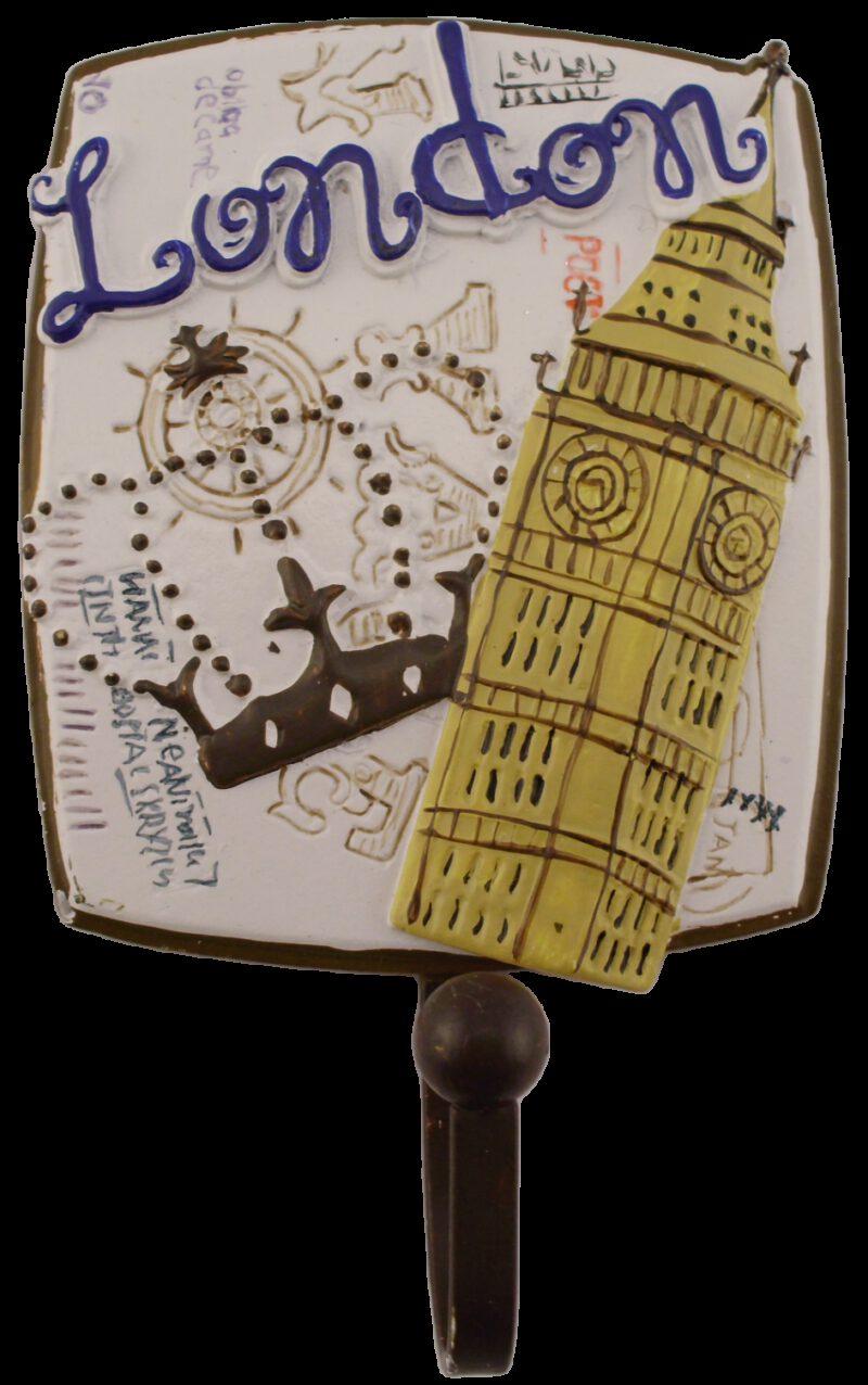 Villes Du Monde London Decorative Coat Hook