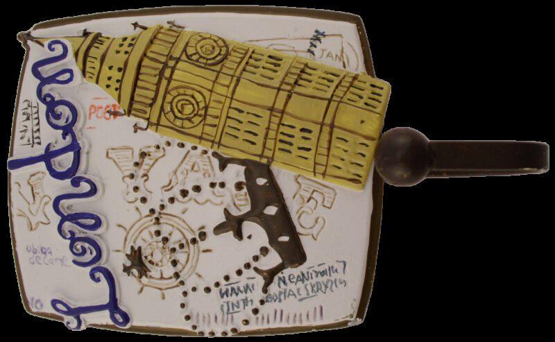 1191 Villes Du Monde London Decorative Coat Hook