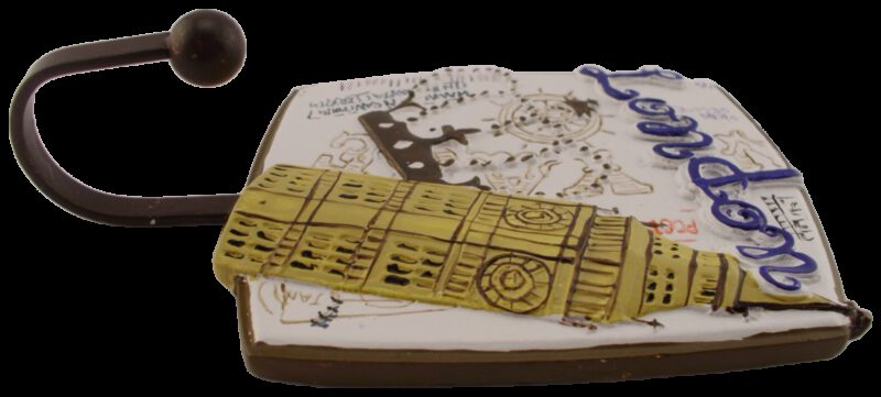 1192 Villes Du Monde London Decorative Coat Hook