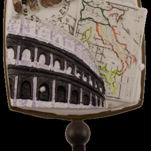 Villes Du Monde Rome Decorative Coat Hook