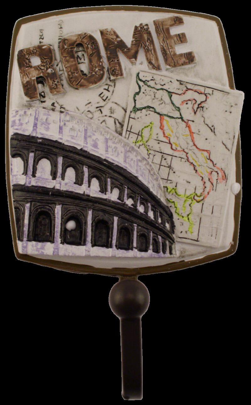 1206 3 Piece Villes Du Monde Famous Cities Decorative Coat Hooks