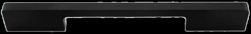 1213 Sencillo Eleganta Kenina Pure Black 128mm Bar Handle