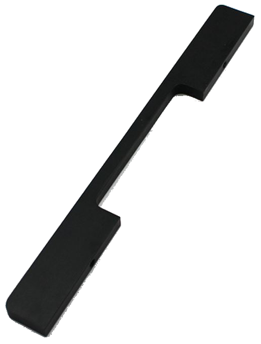 1216 Sencillo Eleganta Kenina Pure Black 160mm Bar Handle