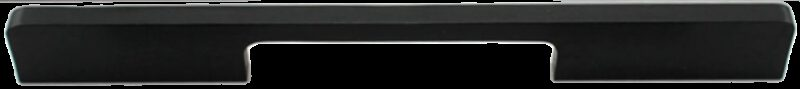 1217 Sencillo Eleganta Kenina Pure Black 160mm Bar Handle