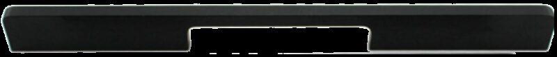 1225 Sencillo Eleganta Kenina Pure Black 224mm Bar Handle
