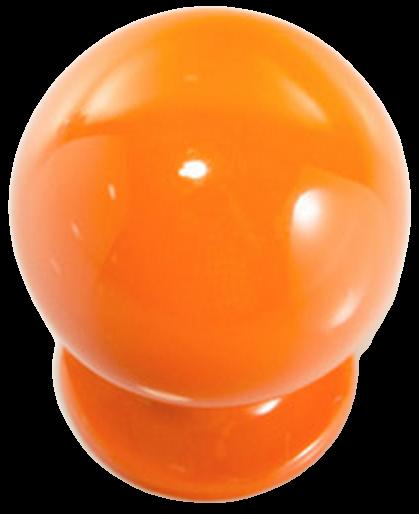 1266 Vibrante Perilla Naranja 20mm Round Orange Knob