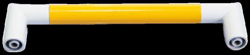 1283 Vibrante Manija Amarillo 128mm Yellow D Handle