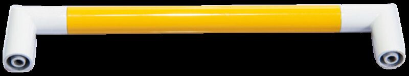 1287 Vibrante Manija Amarillo 160mm Yellow D Handle
