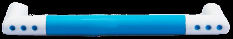1294 Vibrante Manija Azul 128mm Blue D Handle