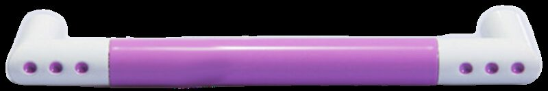 1306 Vibrante Manija Morado 128mm Purple D Handle