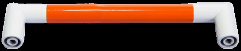 1319 Vibrante Manija Naranja 128mm Orange D Handle
