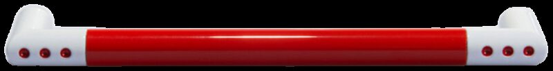 1334 Vibrante Manija Roujo 160mm Red D Handle