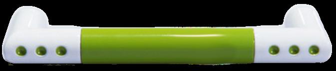 1338 Vibrante Manija Verde 96mm Green D Handle