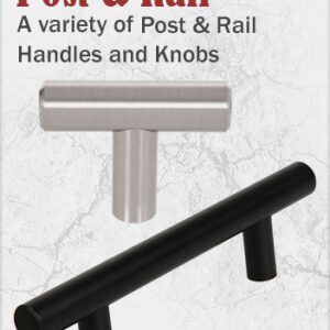 T-Bar Post and Rail Handles
