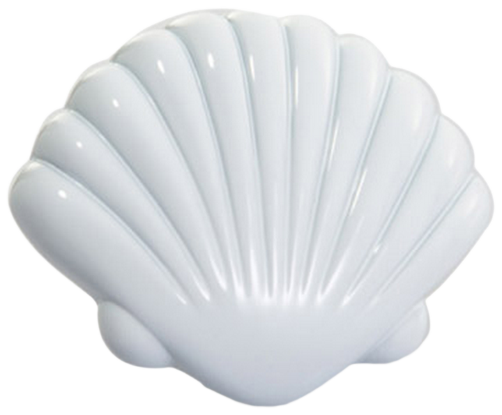 Vibrante Venera Bianco 40mm White Shell Knob