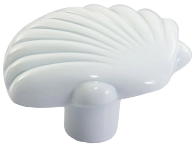 1410 Vibrante Venera Bianco 40mm White Shell Knob