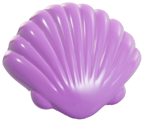 Vibrante Venera Morado 40mm Purple Shell Knob