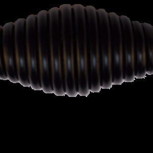 French Provincial Black 96mm Spirala Birdcage D Handle
