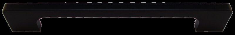 1462 Sencillo Eleganta Tegan Matte Black 160mm Bar Handle