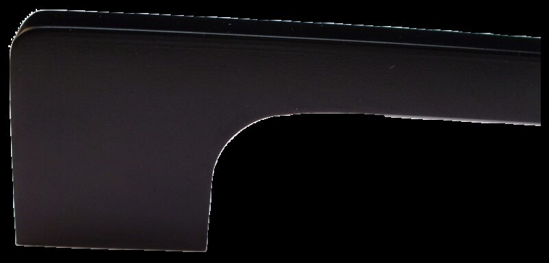 1465 Sencillo Eleganta Tegan Matte Black 160mm Bar Handle