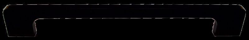 1467 Sencillo Eleganta Tegan Matte Black 192mm Bar Handle