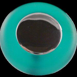 Translucent Round Green Soft Rubber 38mm Knob