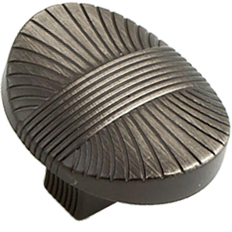 Castella Artisan Harvest 35mm Brushed Tin Knob 756 034 85 2