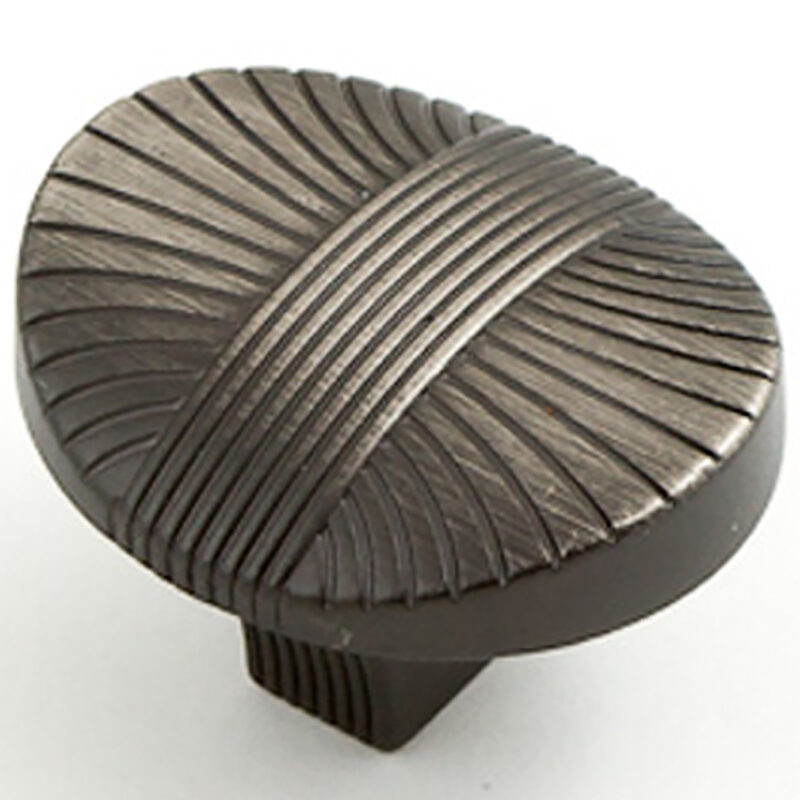 Castella Artisan Harvest 35mm Brushed Tin Knob 756 034 85 3