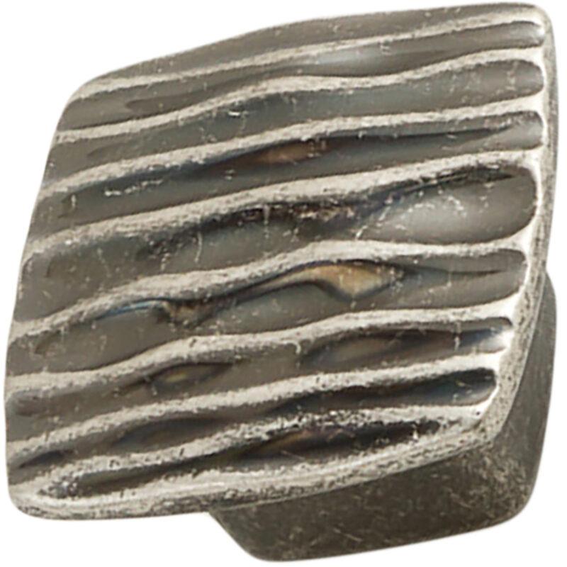 Castella Artisan Ripple 42mm Rustic Tin Knob 744 042 86 1