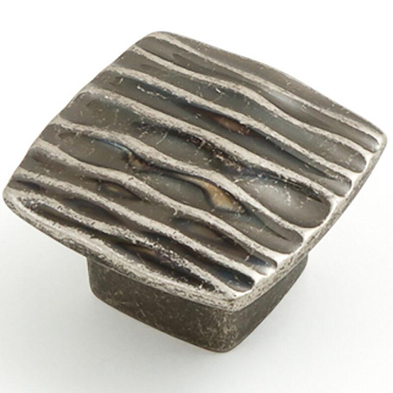 Castella Artisan Ripple 42mm Rustic Tin Knob 744 042 86 2