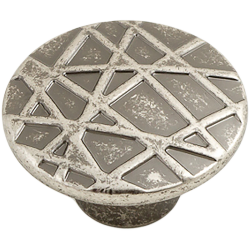 Castella Artisan Tribal 45mm Rustic Tin Knob 740 045 86 2 1