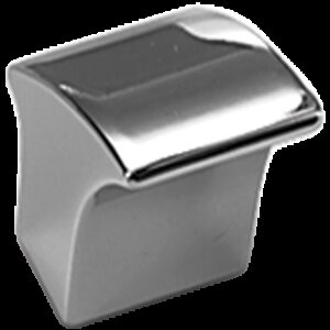 Castella Contour Gradient Polished Chrome 30mm Knob