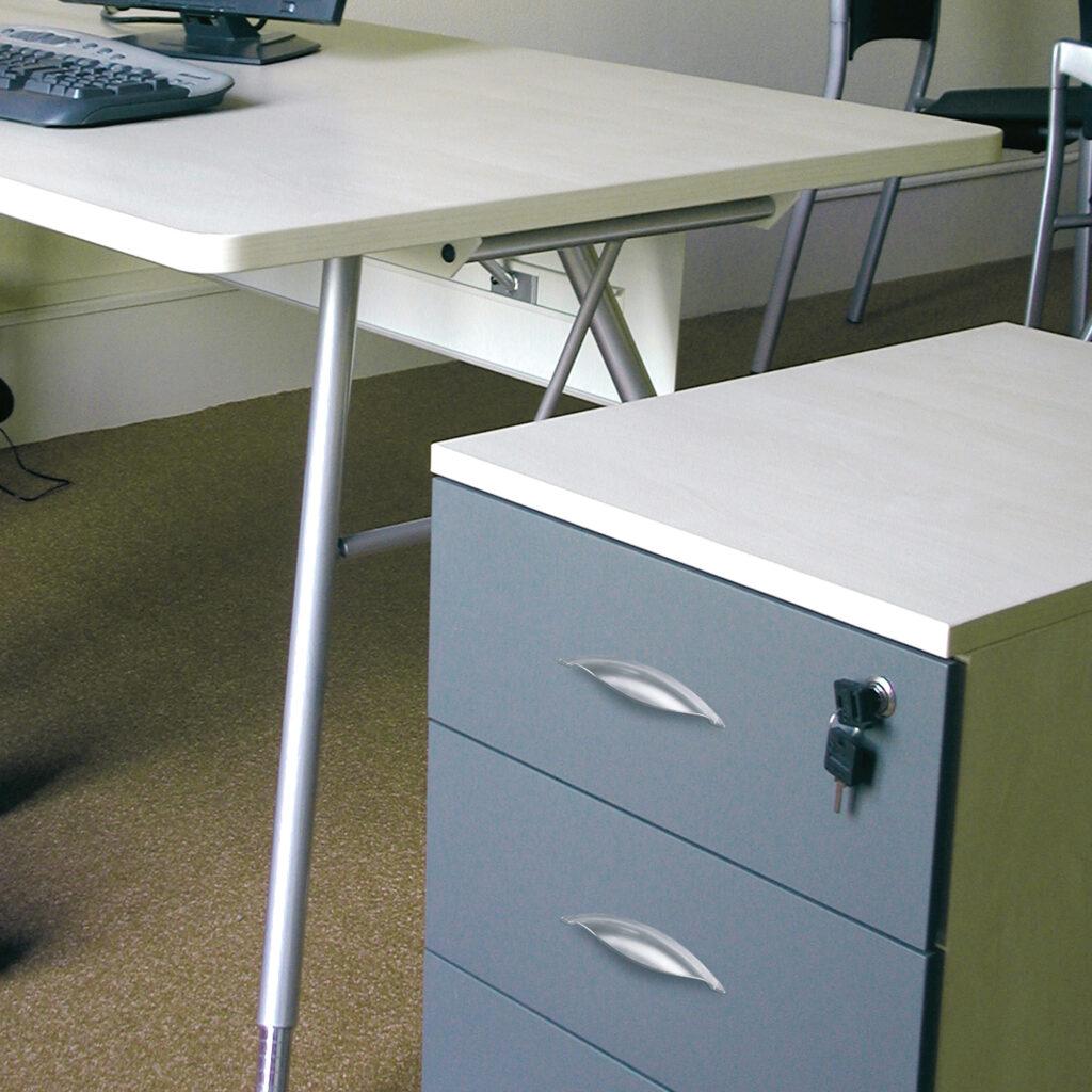 Castella Contour Sconce Aluminium 64mm Cup Pull 772 064 11 Office Cabinet