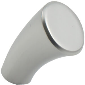 Castella Contour Taper Satin Chrome 20mm Knob 145 020 15