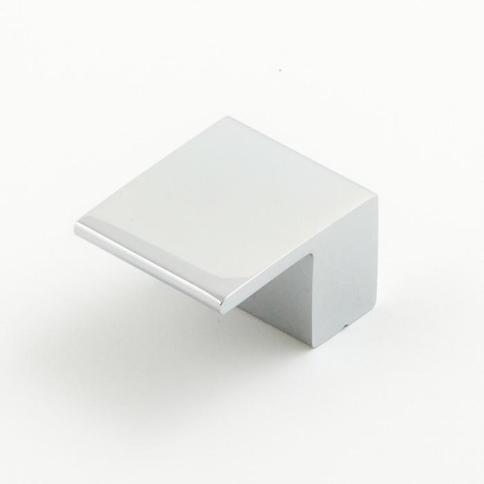 Castella Geometric Vector Polished Chrome Square Lip Pull 16mm Handle