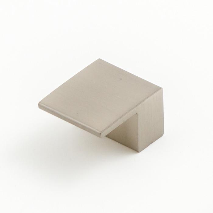 Castella Geometric Vector Brushed Nickel Square Lip Pull 16mm Handle