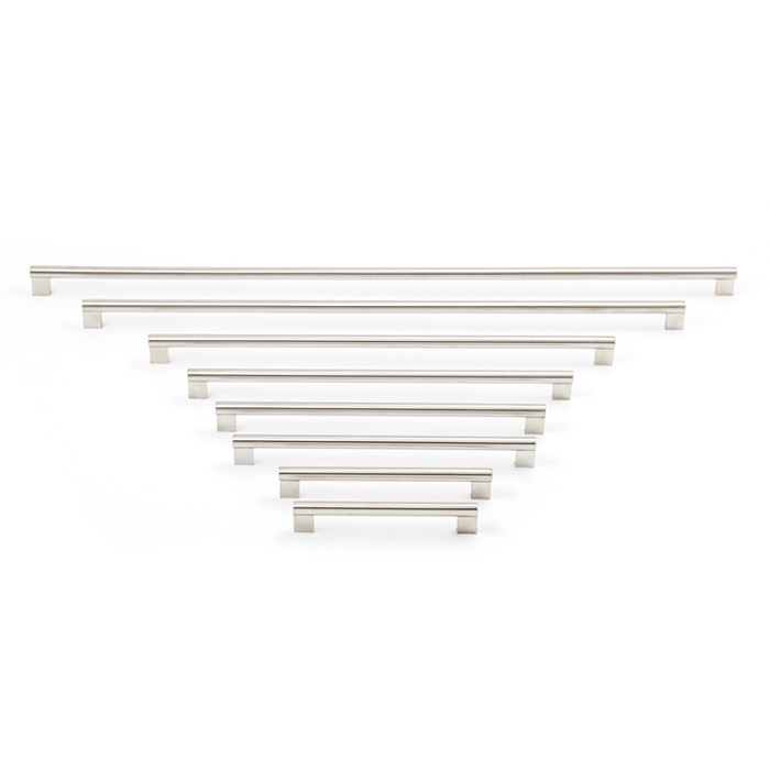 2451 Castella Linear Conduit Brushed Nickel 416mm D Pull Handle