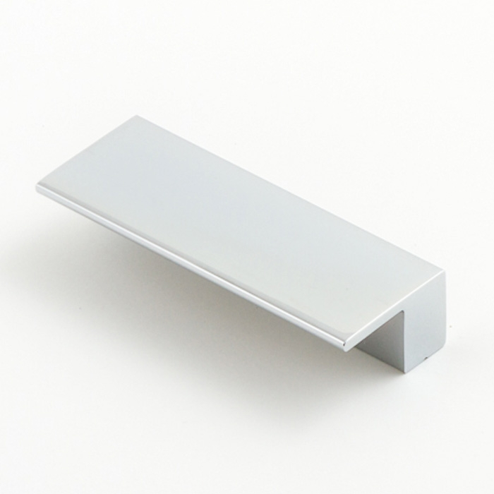 Castella Geometric Vector Polished Chrome Square Lip Pull 64mm Handle
