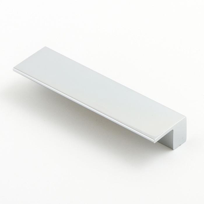 Castella Geometric Vector Polished Chrome Square Lip Pull 96mm Handle