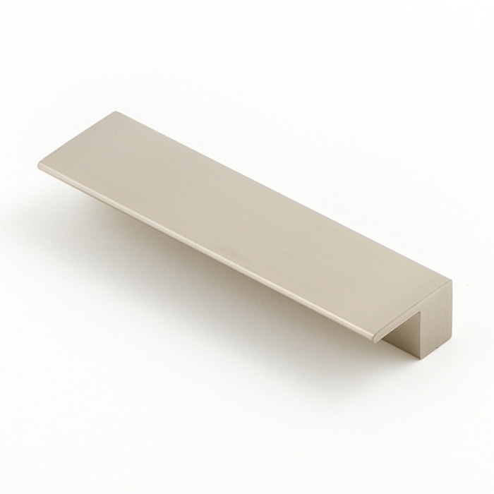Castella Geometric Vector Brushed Nickel Square Lip Pull 96mm Handle