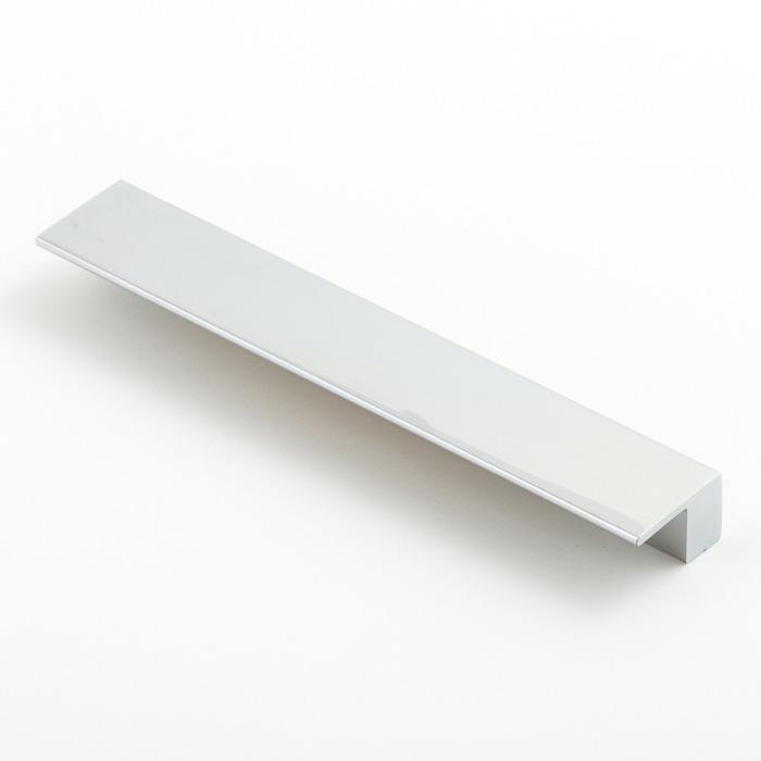Castella Geometric Vector Polished Chrome Square Lip Pull 160mm Handle