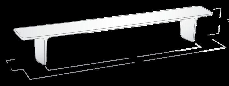 3096 Castella Statement Kyoto Polished Chrome 288mm Handle