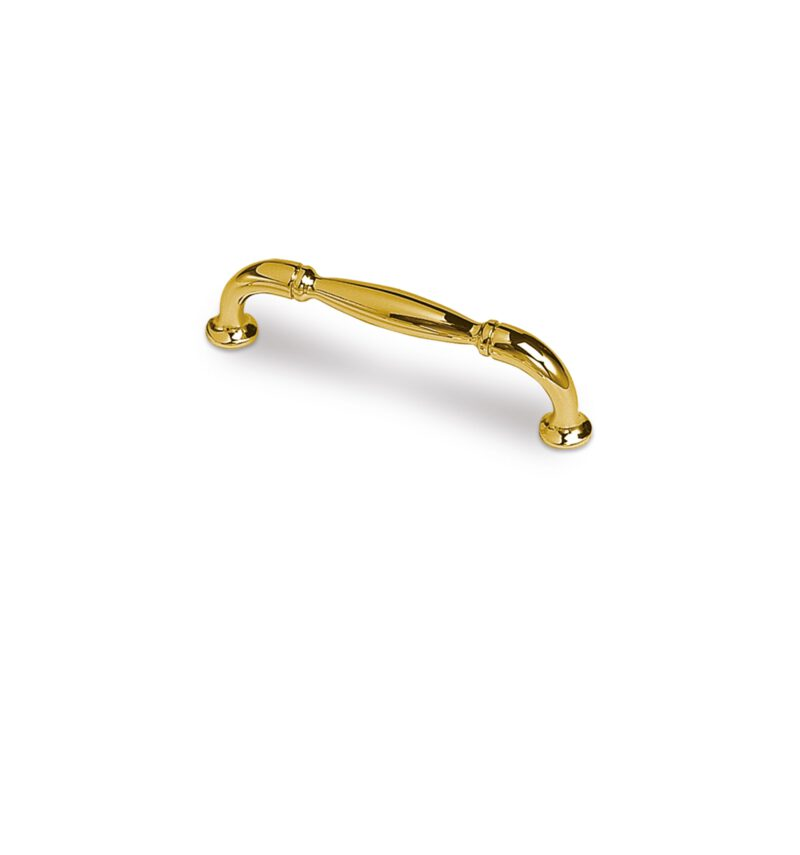 3231 Castella Heritage Sovereign Gold Plated 96mm C Pull Handle