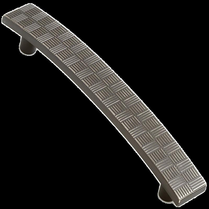 Castella Geometric Tessellate Brushed Tin 128mm Handle 752 128 85 2
