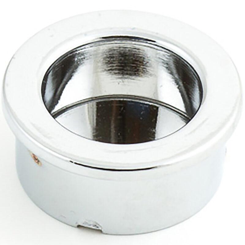 Castella Minimal Flush Polished Chrome 30mm Round Pull Flush Handle 764 030 06