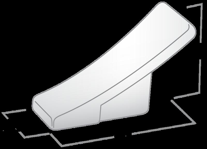 Castella Minimal Forme Satin Chrome 56mm Coat Hook 750 056 15 Diagram 1