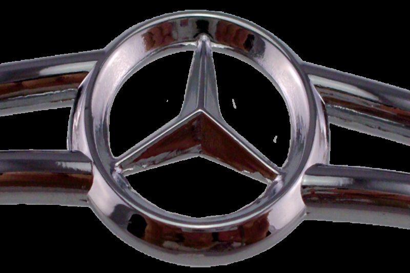 Fans of Mercedes Benz Polished Chrome Zinc Alloy 96mm Cabinet Handle
