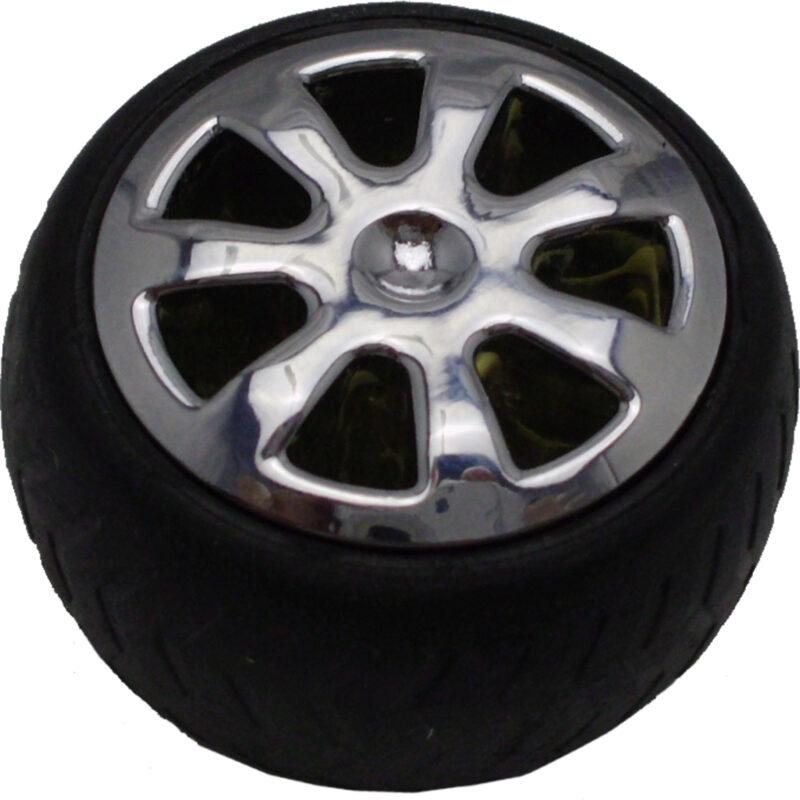 Mancave Tyre Rim Knob Byw Ld 084 Blkslv 2