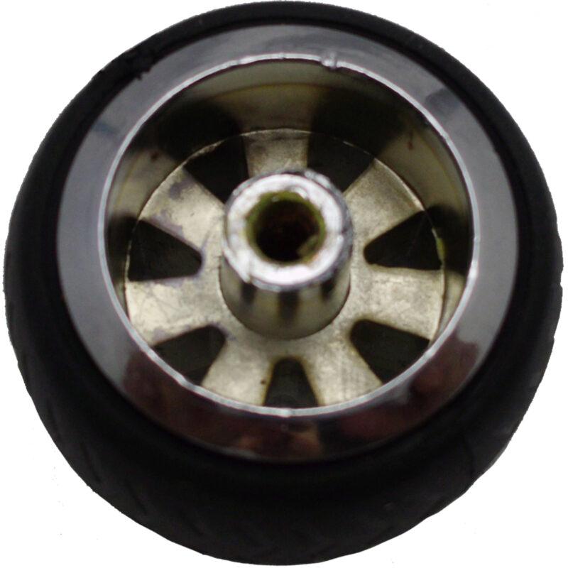 Mancave Tyre Rim Knob Byw Ld 084 Blkslv 3