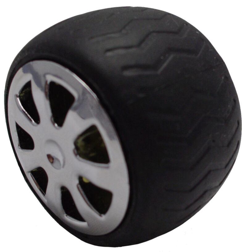 Mancave Tyre Rim Knob Byw Ld 084 Blkslv 5